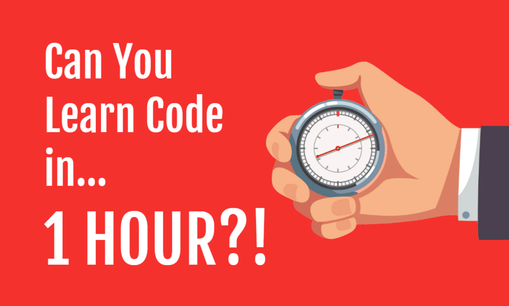 Can You Learn Code in 1 hour
